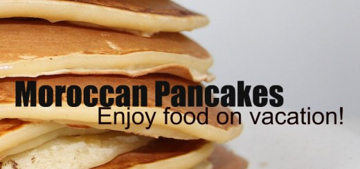 pancake stack, Moroccan Pancakes, www.theeducationaltourist.com