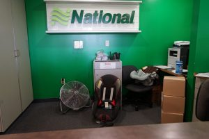 Nationwide car rental office with car seats, Hilton Waikaloa Village, www.theeducationaltourist.com