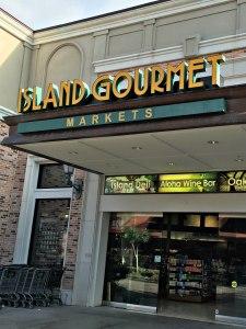 Island Gourmet grocery store Queen's Shops, Hilton Waikaloa Village, www.theeducationaltourist.com
