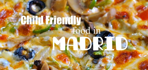 Pizza, Child friendly food in Madrid, www.theeducationaltourist.com