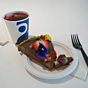 Chocolate tart, Guggenheim Tips, www.theeducationaltourist.com