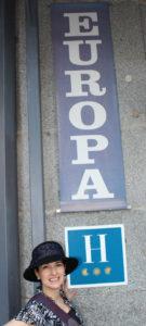 Hotel Europa sign, www.theeducationaltourist.com
