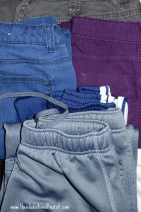 folded fresh laundry, Hotel Europa, www.theeducationaltourist.com