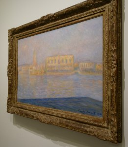 Painting by Monet, Guggenheim Tips, www.theeducationaltourist.com