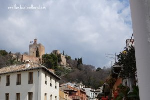 View of Alhambra, Hotel Landazuri, www.theeducationaltourist.com