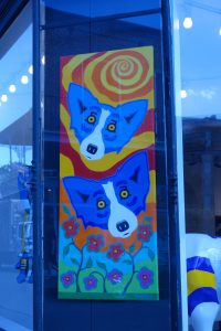 2 blue dogs, Blue Dog, www.theeducationaltourist.com