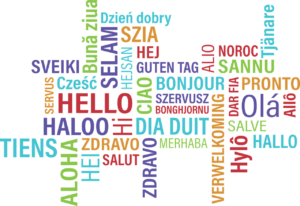 Hello in multiple languages, Paris Culture, www.theeducationaltourist.com