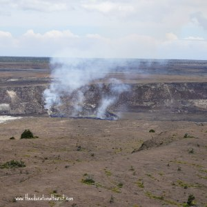 Steam vent in Halema'uma'u crater, Hawaii Volcano National park, www.theeducationaltourist.com