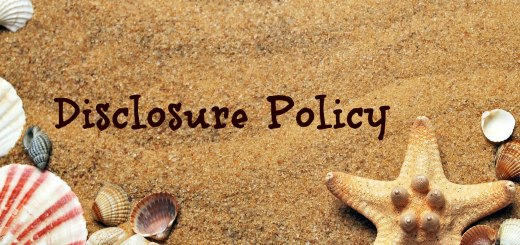 Starfish and shells on sandy beach, Disclosure policy, www.theeducationaltourist.com