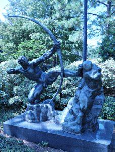 Hercules the Archer by Antoine Bourdelle, NOMA Sculpture Garden, www.theeducationaltourist.com