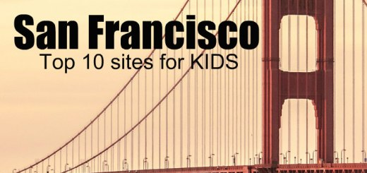 Golden Gate bridge, San Francisco top sites for kids, www.theeducationaltourist.com