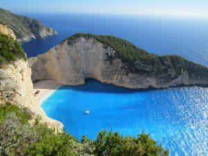 Beach in Greece, trips to greece