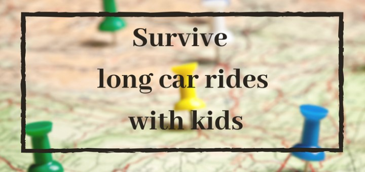 survive long car rides with kids