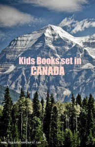 snow covered mountain in Canada Kids Books Set in Canada, www.theeducationaltourist.com