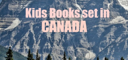 snow covered mountain in Canada Kids Books Set in Canada tourism