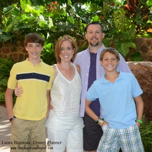 Laura Baustian, Disney Planner and family