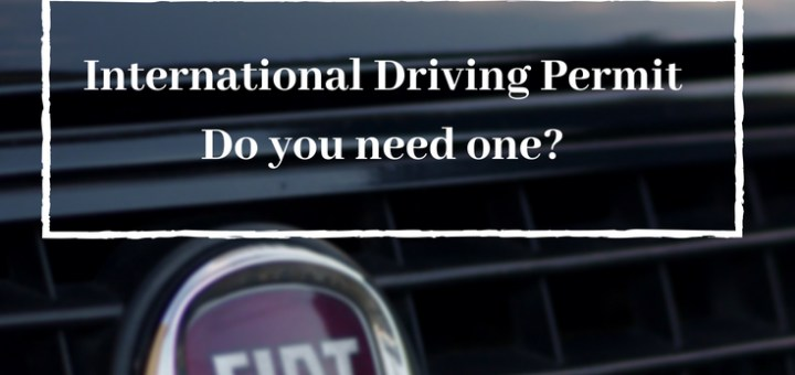 FIAT grill, international driving permit