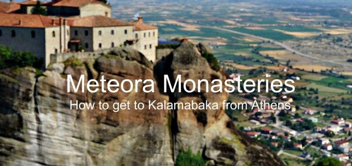 meteora Monasteries on Meteora mountain in Kalamabaka, Greece www.theeducationaltourist.com
