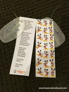Disney bookmarks DIY fish extenders disney cruise