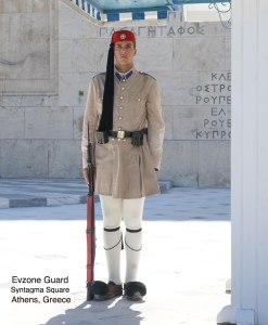 Evzone Guard, Syntagman Square, Athens, Greece