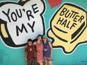 Bread & Butter mural in Austin Texas, What to do in Austin, Tx