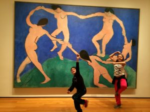 modern art museums, matisse dancing ladies