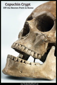 skull capuchin crypt rome