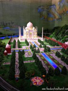 Taj Mahal world in miniature Gullivers Gate