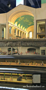 Under Grand Central Station, cross section, miniature world, Gulliver's Gate