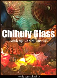Chihuly Glass installation above your head