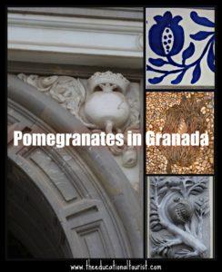 pomegranates in Granada