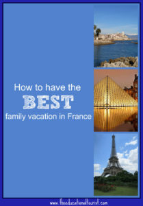 best family vacation in France