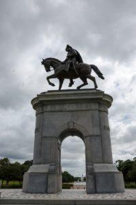 Sam Houston Statue on horse