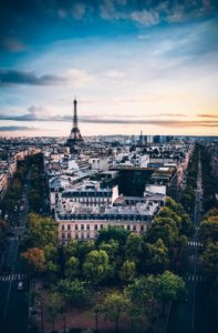 view of paris, family vacation to france