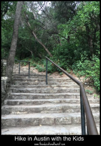stairs to the top of Mount Bonnell in Austin