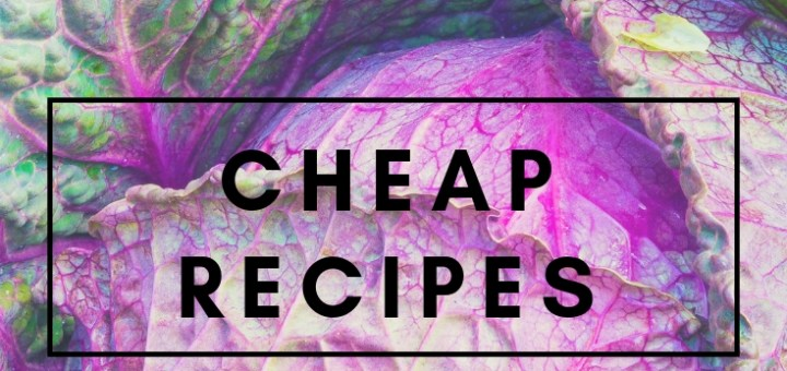 purple cabbage cheap recipes