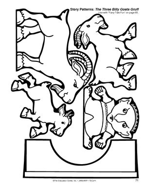 All Worksheets » 3 Billy Goats Gruff Worksheets