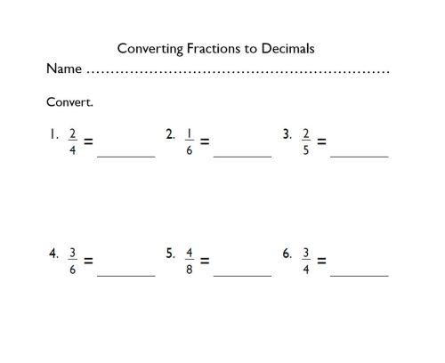 small resolution of Grade-4 Converting Fractions to Decimals - The EduMonitor
