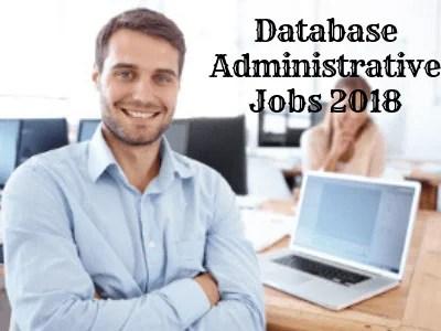 database administrator jobs for freshers