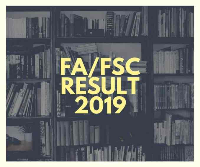 first year result 2019
