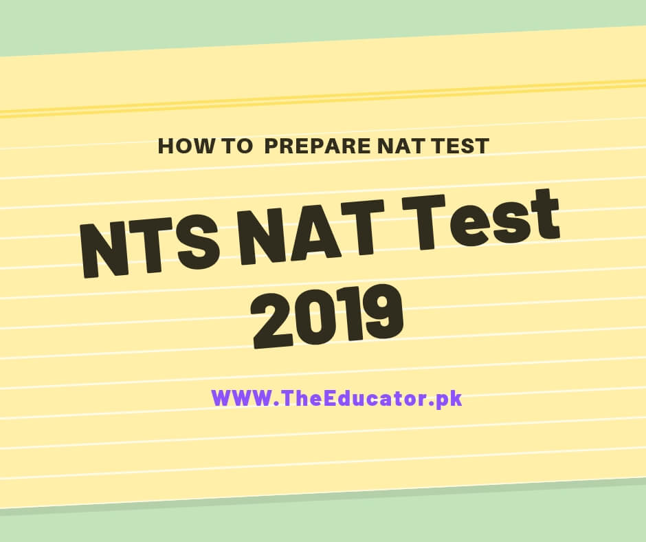 Nts test 2019