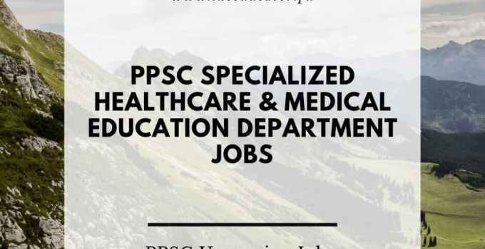 ppsc upcoming jobs