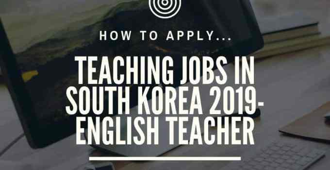 Jobs in South Korea