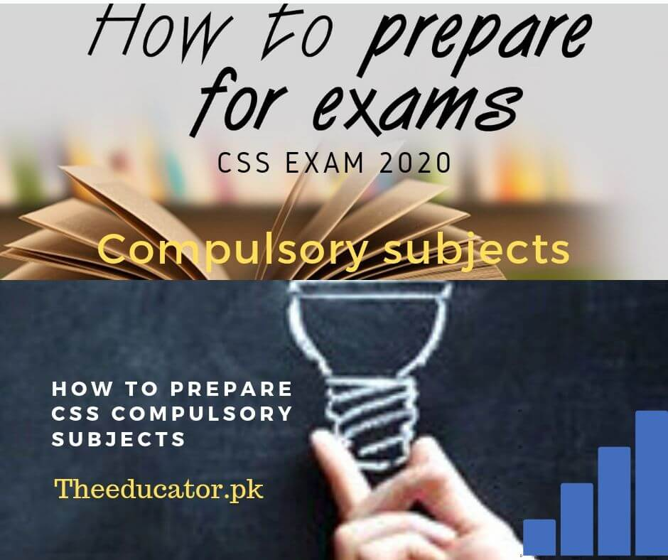How To Prepare CSS Compulsory Subjects