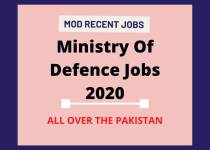 LATEST MOD JOBS 2020