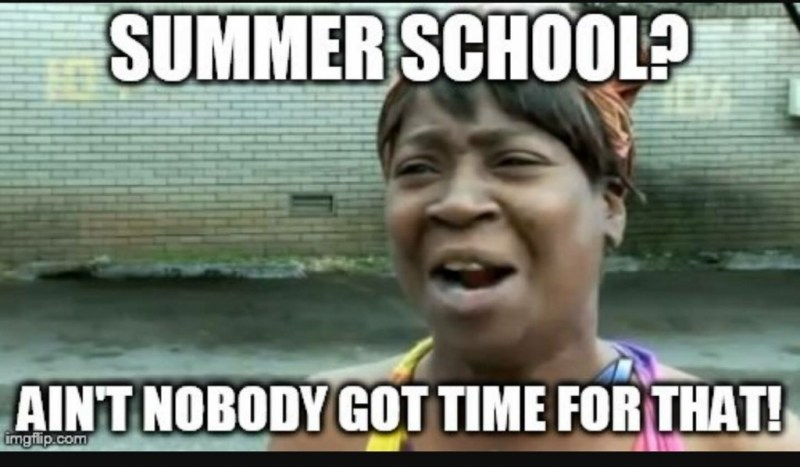 End Of Summer Vacation Meme | Leancy Travel