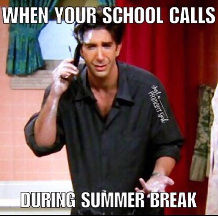 Summer Vacation Summer Vacation Meme