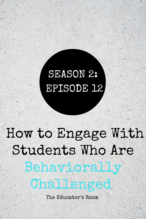 [Podcast S2E12] How to Engage With Students Who Are