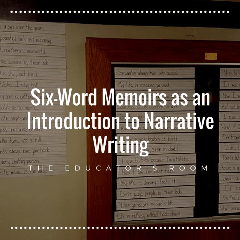 six word memoirs as