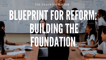 Business model is not an education model blueprint for reform building the foundation malvernweather Images